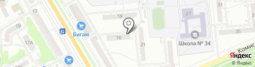 ТСЖ №125 на карте Владимира