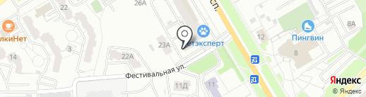 Швейная мастерская Александры Егоровой на карте Владимира