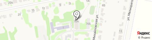 Общежитие на карте Суздаля