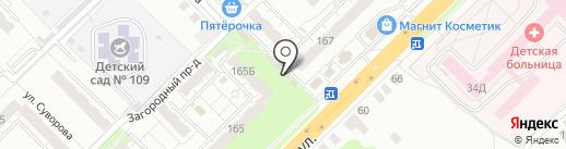 Магазин товаров для семьи и дома на карте Владимира