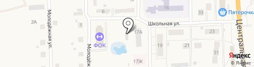 Физкультурно-оздоровительный комплекс на карте Павловского