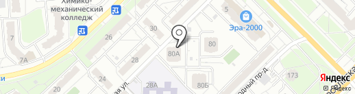 Восточная, ТСН на карте Владимира