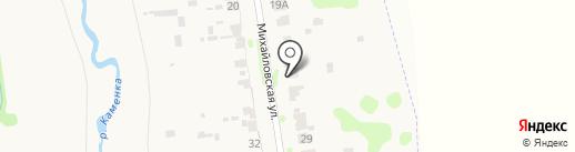 На Михалях на карте Суздаля