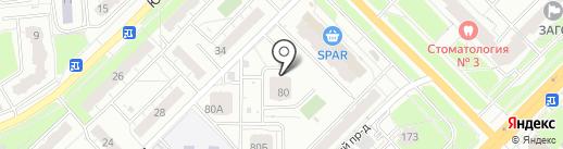 Снегири на карте Владимира