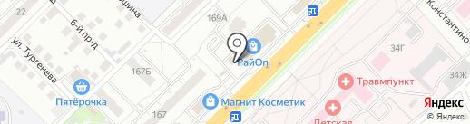 Полцены на карте Владимира