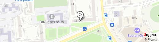 Ломбард ЮНИВЕРС на карте Владимира