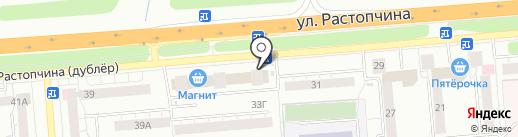 CyberPlat на карте Владимира