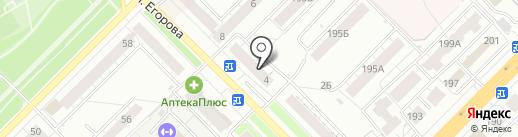 Магазин парфюмерии и косметики на карте Владимира