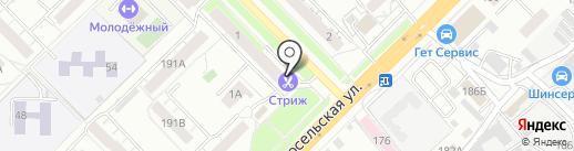 Джинс-стиль на карте Владимира