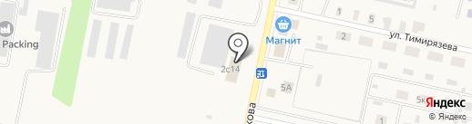 Колесник на карте Вяткино