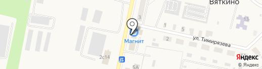 Магнит на карте Вяткино