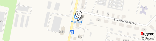 Пивнов на карте Вяткино