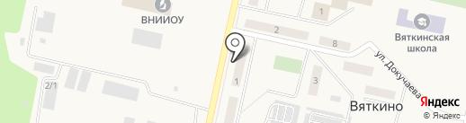АКВА-Электро на карте Вяткино
