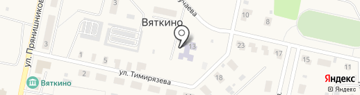 Родничок на карте Вяткино