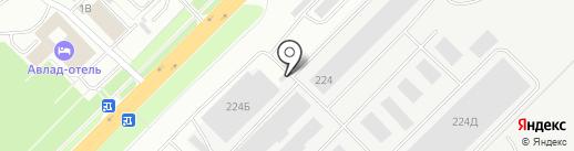Мембраниум на карте Владимира