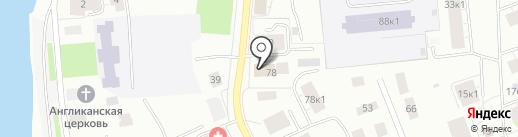220 Вольт на карте Архангельска