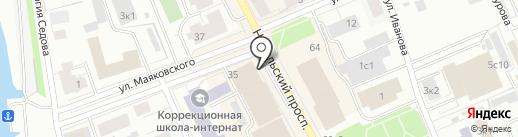 Магазин головных уборов на карте Архангельска