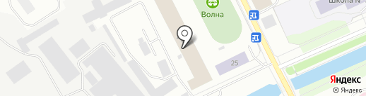 Медико-санитарная часть №29 на карте Архангельска