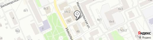 B & H на карте Архангельска