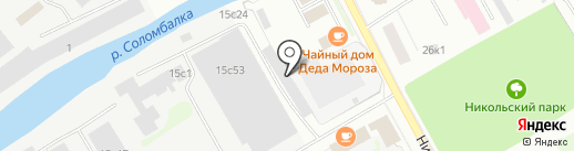 Авто RS-сервис на карте Архангельска
