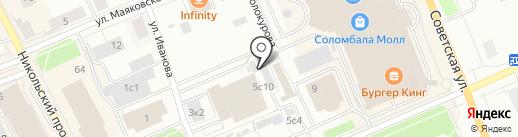 Любимые размерчики на карте Архангельска