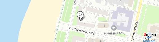 Российский Красный Крест на карте Архангельска