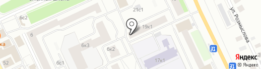 Участковый пункт полиции на карте Архангельска