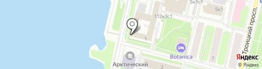 Управление Судебного департамента в Архангельской области на карте Архангельска