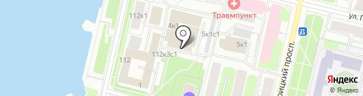 Нотариус Генералова С.В. на карте Архангельска