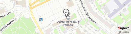 Избирательная комиссия муниципального образования г. Архангельска на карте Архангельска