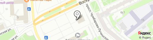 ТРОЙКА на карте Архангельска