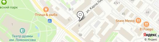 Media room на карте Архангельска