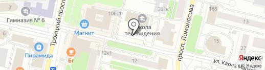 Банкомат, АКБ Авангард, ПАО на карте Архангельска