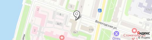 Академия ювелирного макияжа Юлии Вавиловой на карте Архангельска