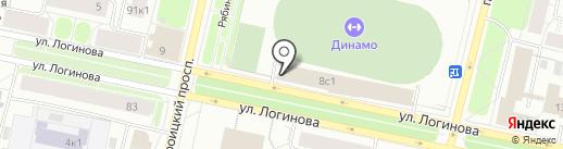 Догги-центр на карте Архангельска