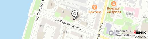 Торговая компания на карте Архангельска