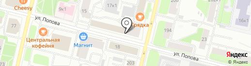 Lash Lab на карте Архангельска