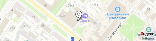 Платежный терминал, Банк СГБ, ПАО на карте Архангельска