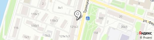 Кофеварка на карте Архангельска