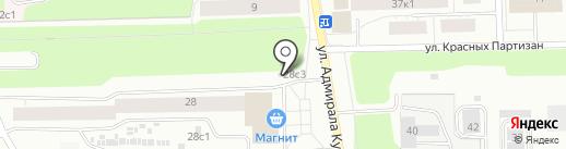 Хлебное место на карте Архангельска