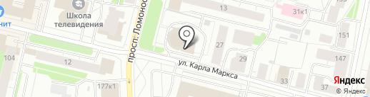 Smoke House на карте Архангельска