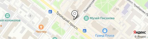 Baker street на карте Архангельска