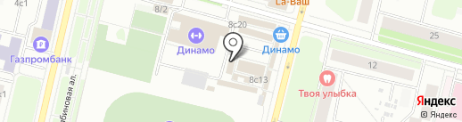 Магазин светотехники на карте Архангельска