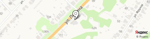 ГЛОНАСС на карте Боголюбово