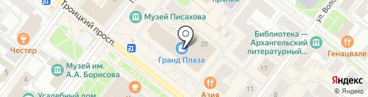 Serginetti на карте Архангельска