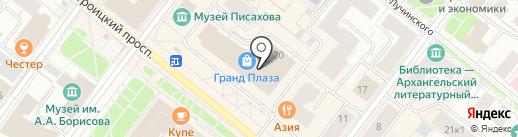 Ricardo на карте Архангельска