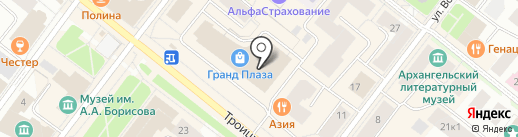 Femina на карте Архангельска
