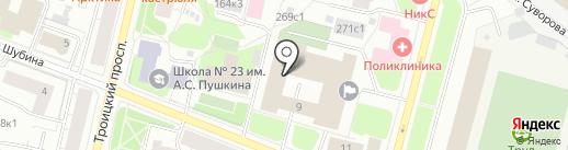 Intra Solis на карте Архангельска