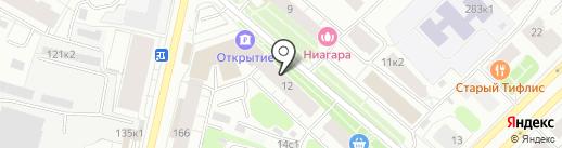 Букинист на карте Архангельска