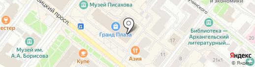 Чулочки и колготочки на карте Архангельска